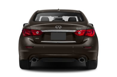 Rear Profile  2014 INFINITI Q50