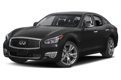 3/4 Front Glamour 2017 INFINITI Q70