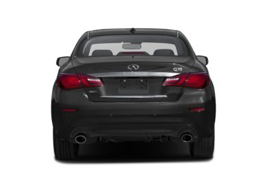Rear Profile  2016 Infiniti Q70