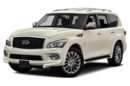 3/4 Front Glamour 2016 Infiniti QX80