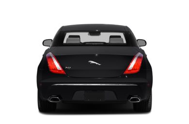 Rear Profile  2015 Jaguar XJ