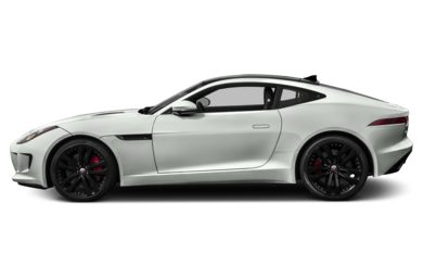 90 Degree Profile 2015 Jaguar F-TYPE