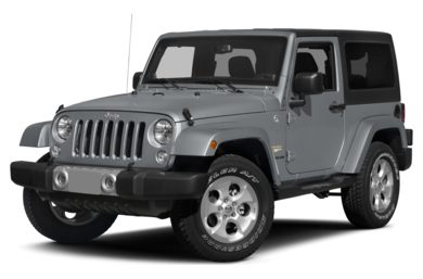 3/4 Front Glamour 2015 Jeep Wrangler