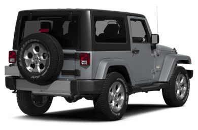 3/4 Rear Glamour  2015 Jeep Wrangler