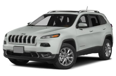 3/4 Front Glamour 2015 Jeep Cherokee