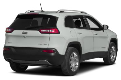 3/4 Rear Glamour  2015 Jeep Cherokee