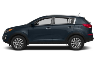 90 Degree Profile 2015 Kia Sportage