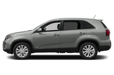 90 Degree Profile 2015 Kia Sorento