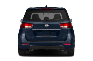 Rear Profile  2018 Kia Sedona