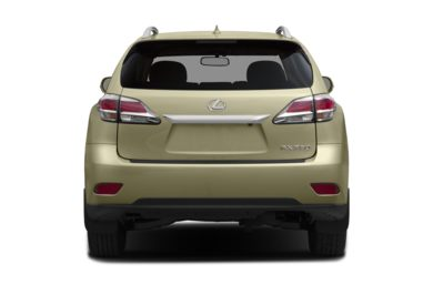 Rear Profile  2015 Lexus RX 350