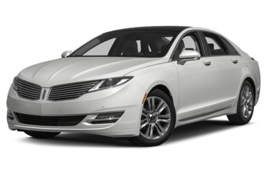 3/4 Front Glamour 2015 Lincoln MKZ