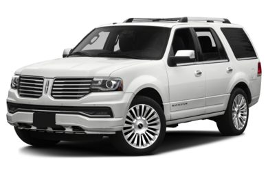 3/4 Front Glamour 2015 Lincoln Navigator