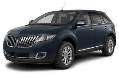 3/4 Front Glamour 2015 Lincoln MKX