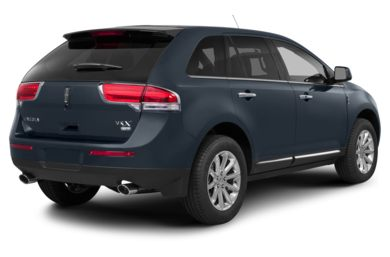 3/4 Rear Glamour  2015 Lincoln MKX