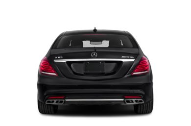 Rear Profile  2016 Mercedes-Benz S65 AMG