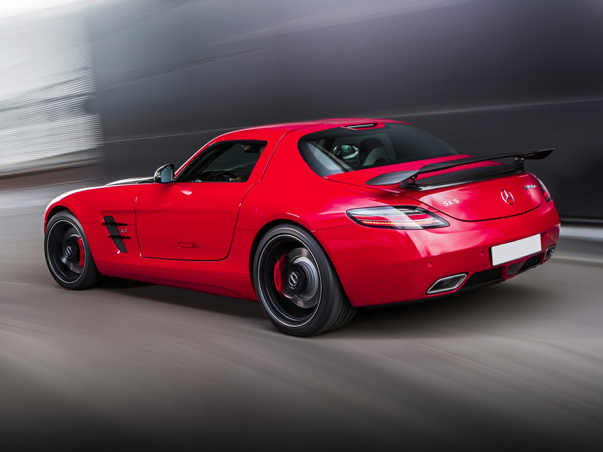 2015 Mercedes-Benz SLS AMG Rear