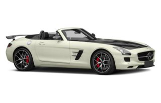 3/4 Front Glamour 2015 Mercedes-Benz SLS AMG