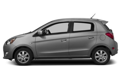 90 Degree Profile 2015 Mitsubishi Mirage