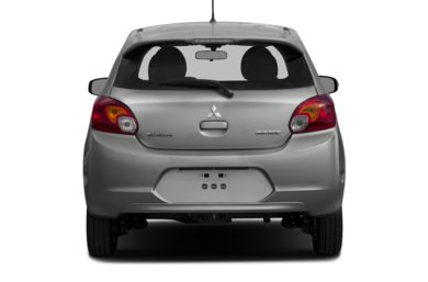 Rear Profile  2015 Mitsubishi Mirage