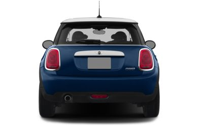 Rear Profile  2015 MINI Hardtop