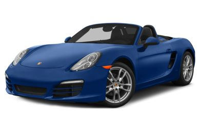 3/4 Front Glamour 2015 Porsche Boxster