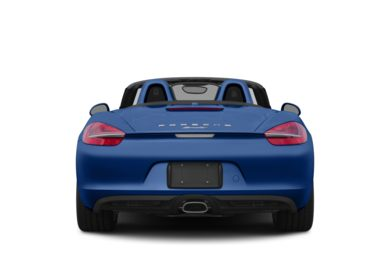 Rear Profile  2015 Porsche Boxster