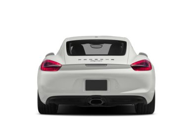Rear Profile  2015 Porsche Cayman