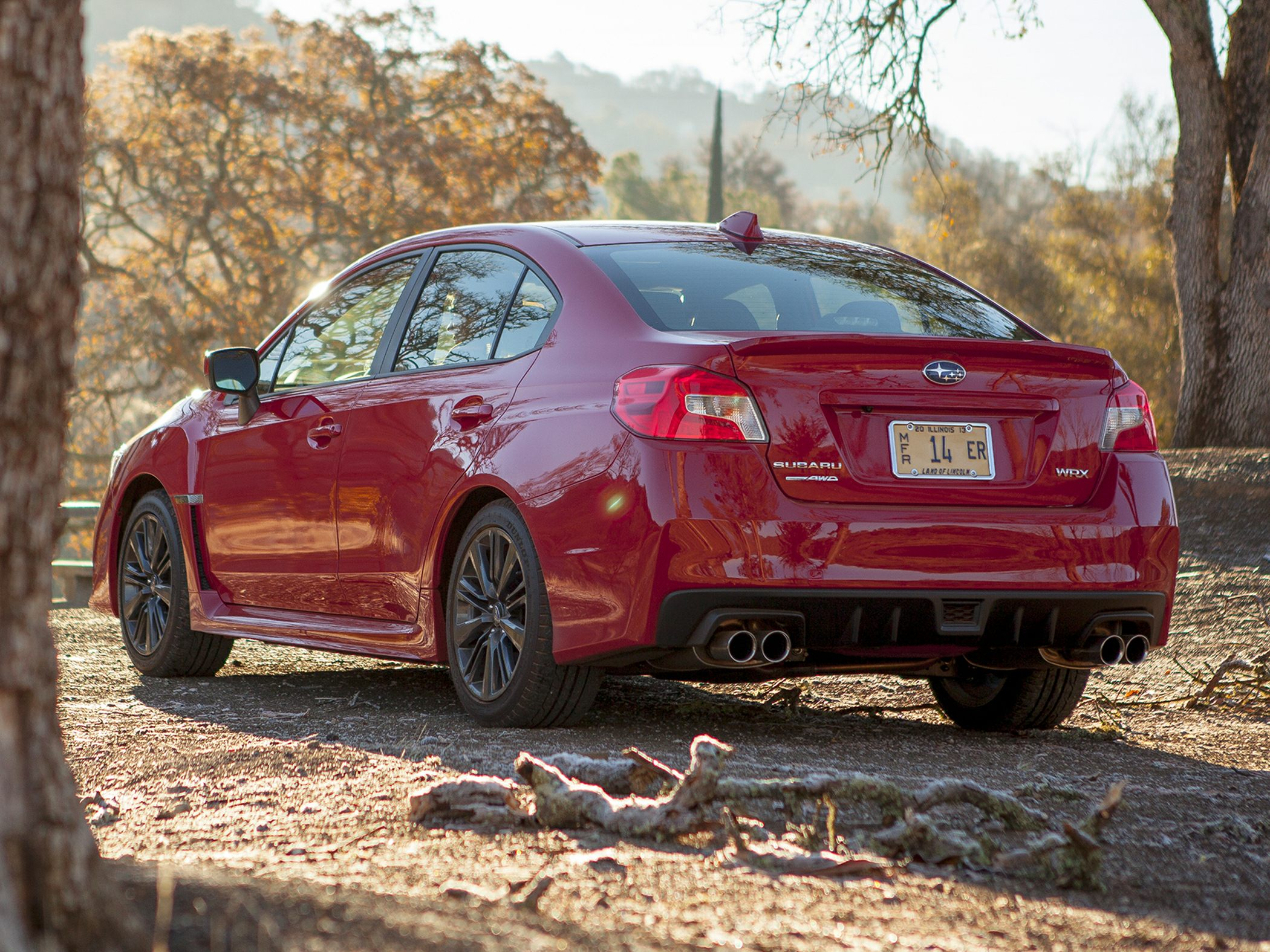2015 Subaru WRX Rear