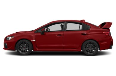 90 Degree Profile 2015 Subaru WRX STI