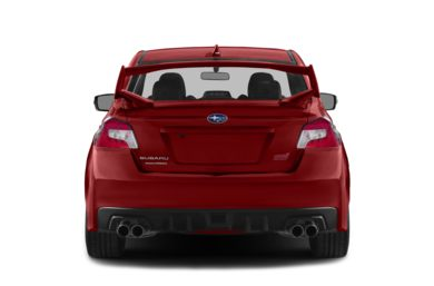 Rear Profile  2015 Subaru WRX STI
