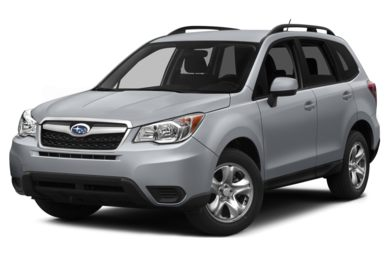 3/4 Front Glamour 2015 Subaru Forester