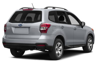 3/4 Rear Glamour  2015 Subaru Forester