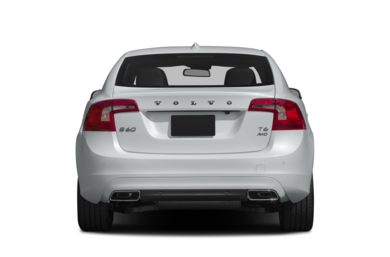 Rear Profile  2015 Volvo S60