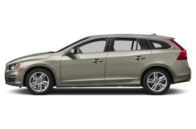 90 Degree Profile 2016 Volvo V60