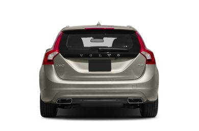 Rear Profile  2016 Volvo V60