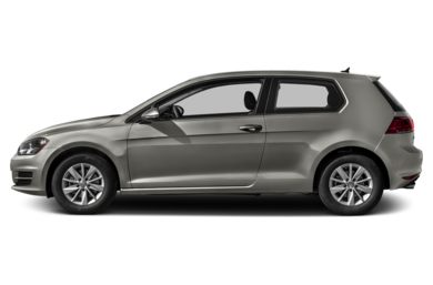 90 Degree Profile 2015 Volkswagen Golf
