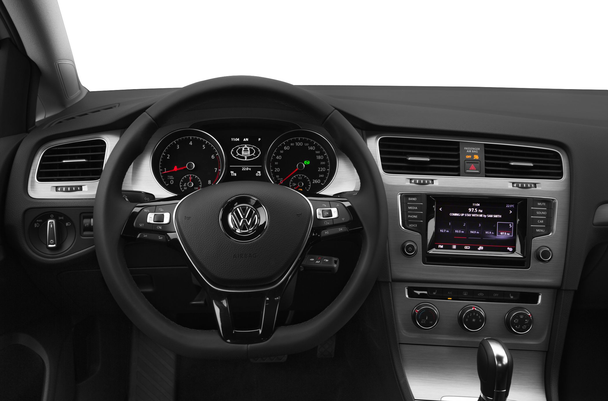 2015 Volkswagen Golf Interior