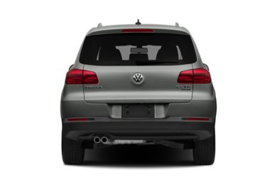 Rear Profile  2015 Volkswagen Tiguan