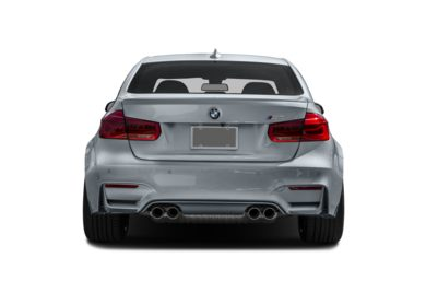 Rear Profile  2016 BMW M3