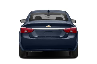 Rear Profile  2017 Chevrolet Impala