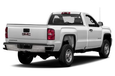3/4 Rear Glamour  2015 GMC Sierra 2500HD