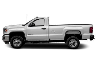 90 Degree Profile 2017 GMC Sierra 2500HD