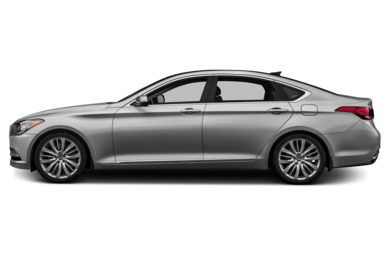 90 Degree Profile 2016 Hyundai Genesis Sedan