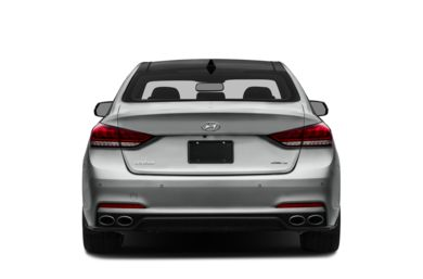 Rear Profile  2016 Hyundai Genesis Sedan