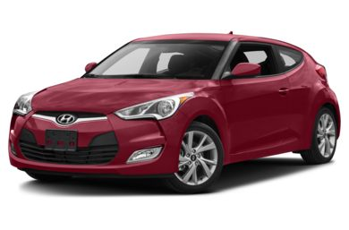 3/4 Front Glamour 2016 Hyundai Veloster