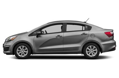 90 Degree Profile 2016 Kia Rio