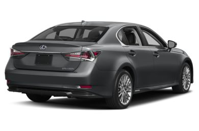 3/4 Rear Glamour  2017 Lexus GS 450h