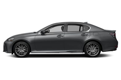 90 Degree Profile 2017 Lexus GS 450h