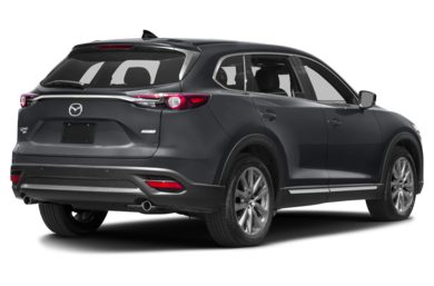3/4 Rear Glamour  2016 Mazda CX-9