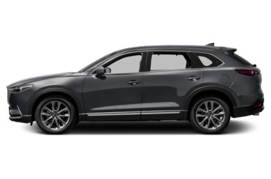90 Degree Profile 2016 Mazda CX-9